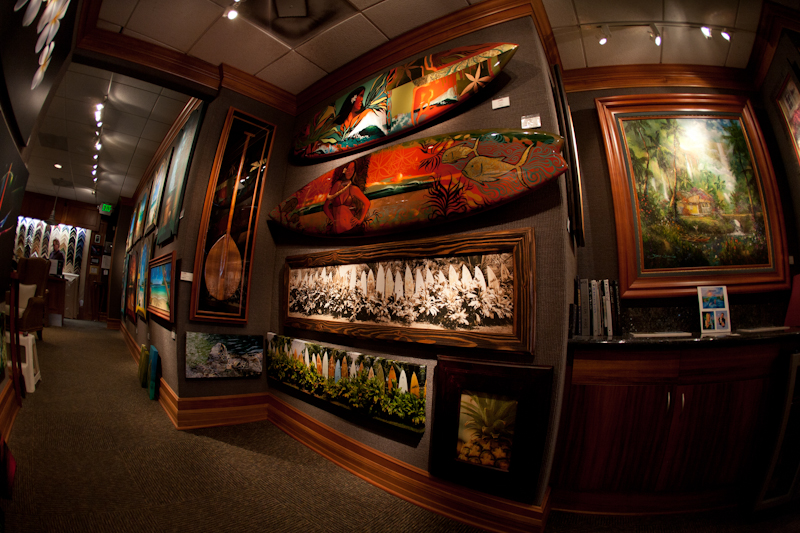 Art Gallery on Front St., Lahaina